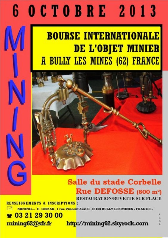 Mining de Bully les Mines - 12�me salon international de l' objet minier